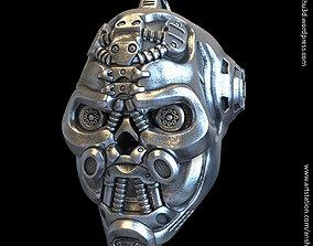 3D print model Robotic skull vol1 pendant jewelry