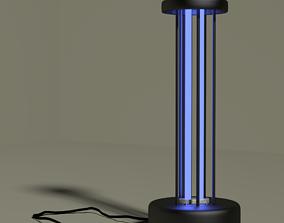 Ultraviolet germicidal antibacterial lamp 3D model