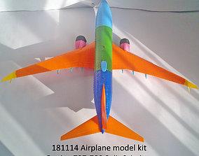 181114 Boeing 737-700 Split Scimitar Up 3D print model