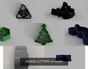 COOKIE CUTTERS 3D model