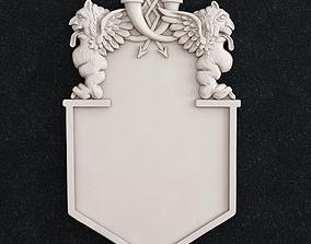 Gargoyle Gerb Emblem 3d print model