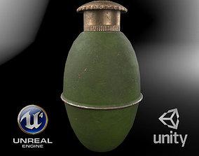 Yugoslavian grenade M38 3D asset