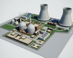 Nuclear Power Plant 3D