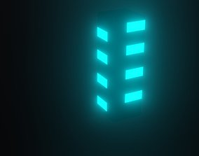 lamp light 3D asset