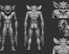 3D model The Real Bat Man