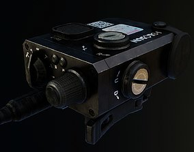 Holosun LS321G Dual Laser Sight 3D model