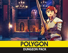 3D asset POLYGON - Dungeon Pack