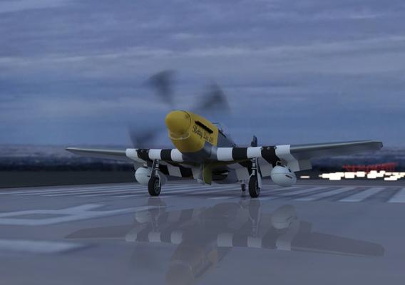 Betty Lee III - P-51D-15-NA 44-15076/E2-X