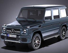 3D model Mercedes-Benz G63 AMG 2017 VRAY