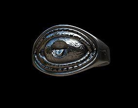 3D print model Grimace eye ring