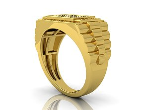 Rolex Ring And Render Detail 3D printable model