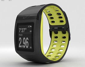 Nike SportWatch GPS Black Volt 3D