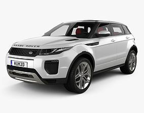 3D model Land Rover Range Rover Evoque HSE 5-door with 2