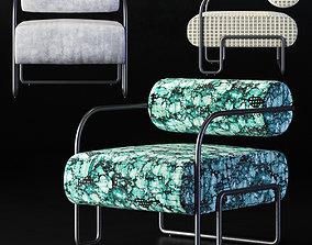 3D model Kelly Wearstler Ardent Club Chair