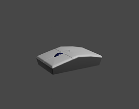 Computer mouse 3D model game-ready