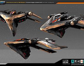 3D asset SF Guardians Fighter BB4