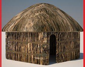 Hut four 3D model