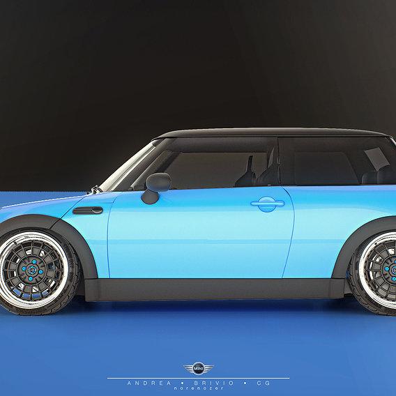 Mini Cooper - Mugen NR10R 17in rims