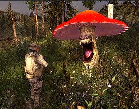 3Dfoin - Monster Mushroom animated