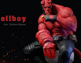 Hellboy Fanart for Collectible 3D print model