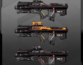 3D model SF MachineGun AK5