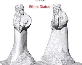 Ultra realistic Ethnic Statue Scan 3D model