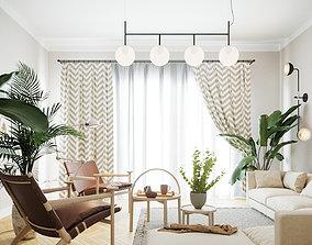 Scandinavian Room Corona 3D