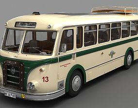 3D model IFA H6 Bus 1952