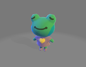 3D asset Cute Frog