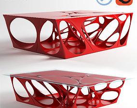 Fractal Table 3D asset
