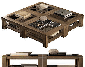 decor 3D Wooden coffee table