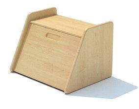 Wooden Cutting Board Kitchen 3D