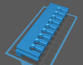 Modular Cable Hanger-Manager 3D printable model