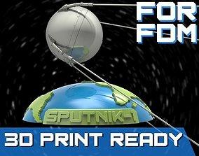 3D printable model Sputnik - 1 for FDM