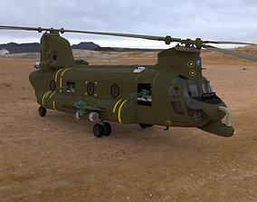 3D ACH-47 Chinook