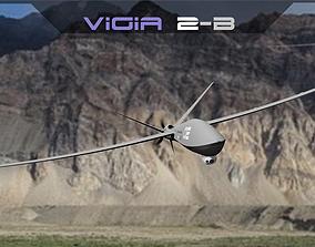 3D asset UAV DRNE VIGIA