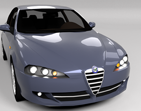 3D model ALFA ROMEO 147 LOWPOLY