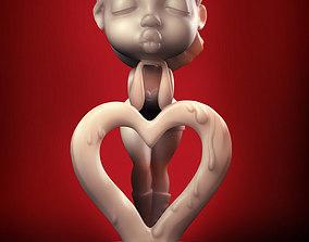 Love You Muah 3D print model
