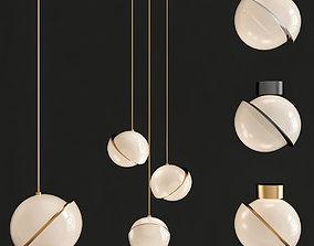 3D asset Crescent lighting by Lee Broom