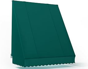 3D Green Awning