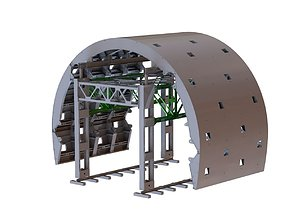 Tunnel Formwork 3D