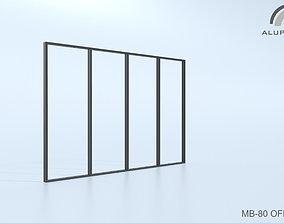 3D Aluprof MB-80 Office 012 0174