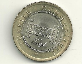 Texture set of 49 coin types of Turkey 3D model