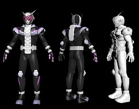 kamen rider ZI-O full armor 3D printable model