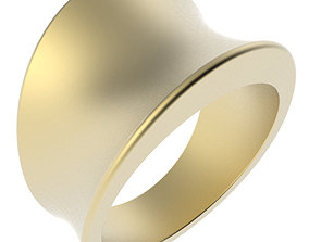 3D printable model Tapering Concave Band