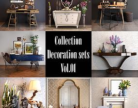 3D Collection Decoration sets Vol 01