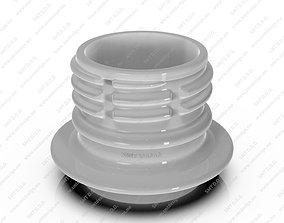 Neck for bottles - PCO - 1817 3D model