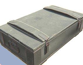 3D asset VR / AR ready PBR Ammo Box
