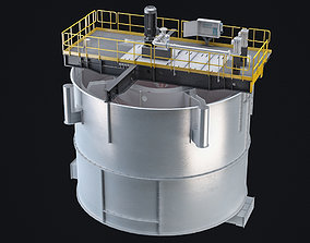 3D flotation cell