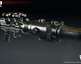 T-21B heavy blaster 3D print model